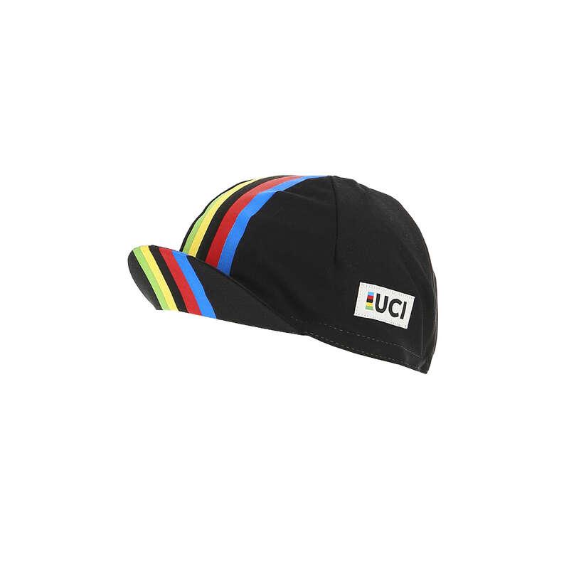 Országúti kerékpáros nyaksál átmeneti időre Kerékpározás - Kerékpáros sapka rainbow black SANTINI - Kerékpáros ruházat