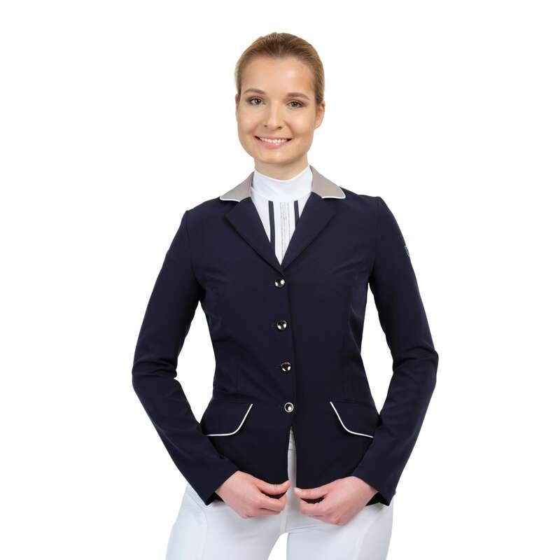 Versenyruházat Lovaglás - Női versenyzakó lady bow EQUESTRIAN COLLEGE - Lovas ajánlatok