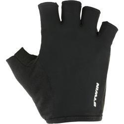 Fietshandschoenen racefiets 100 zwart
