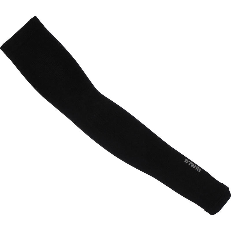 Cool Weather Arm Warmers - Black