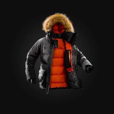 MEN'S WARM WATERPROOF DOWN ARCTIC TREKKING PARKA - COMFORT -25°C
