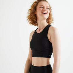 Moderate Support Cropped Fitness Sports Bra 540