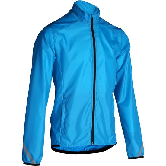 Regenjasje fiets heren 300 blauw - 202658