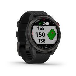 Relógio GPS Golf Approach S42 Preto