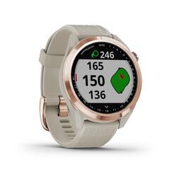 Relógio GPS de Golf Approach S42 Rosa/Dourado