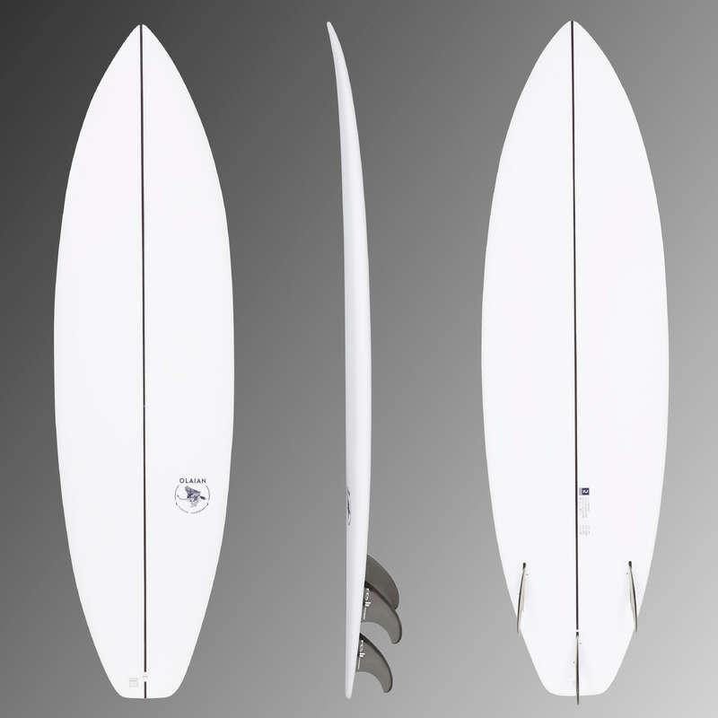 Szörfdeszkák intenzív szörfözéshez Strand, szörf, sárkány - Shortboard 900-as 6'3