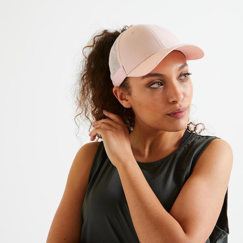 Pet voor fitness en cardiotraining 500 roze