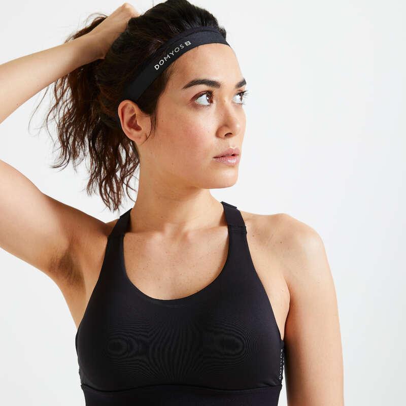 KAPE I TRAKE ZA GLAVU ZA KARDIOFITNES Fitness - Traka za kosu x 3 DOMYOS - Odjeća za fitness