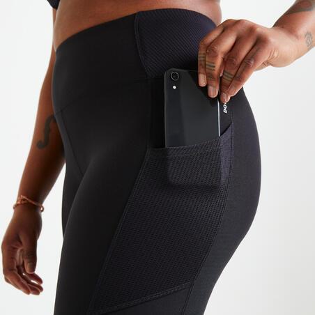 Fitnesa legingi ar kabatu mobilajam tālrunim