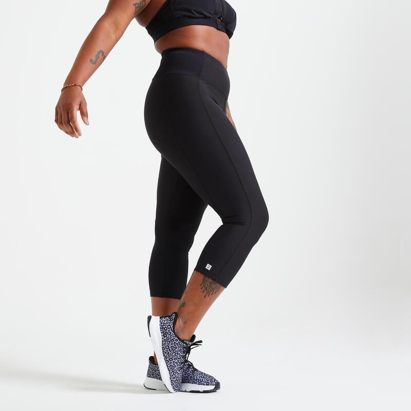 Short Fitness Leggings with Phone Pocket