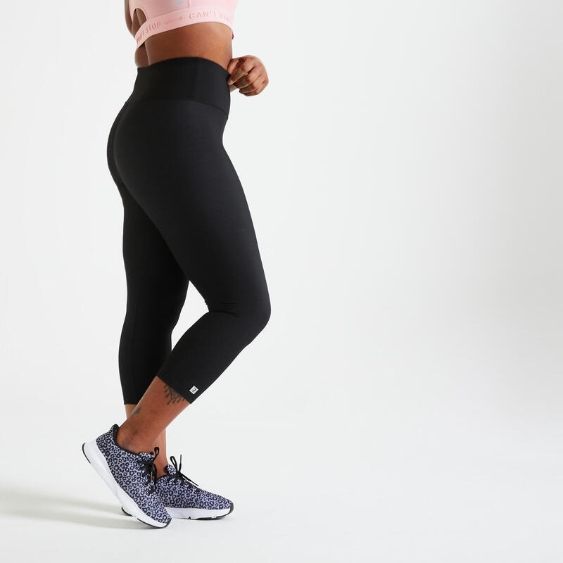 Colanți 7/8 Fitness 100 Damă