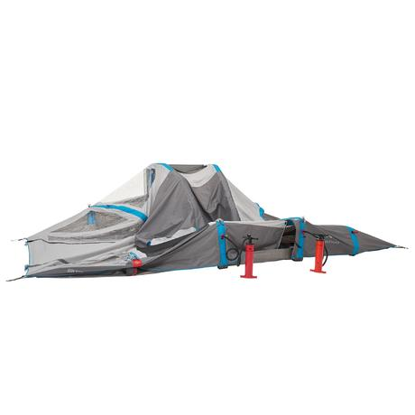Tente de camping air seconds family 6 personnes 3 for Chambre a air 6 40 13