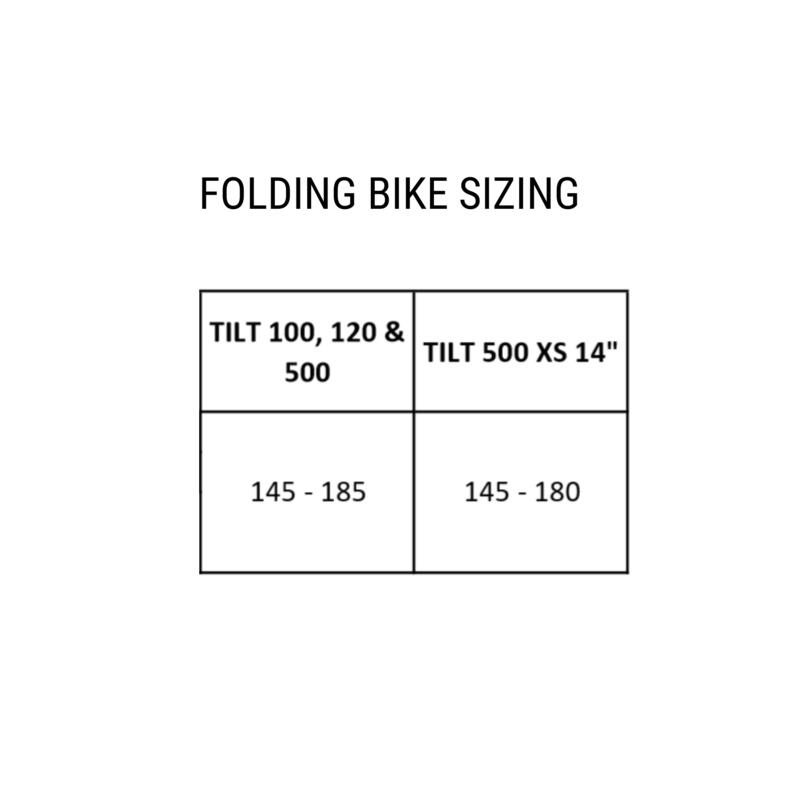 "Folding Bike Tilt 500 20"" - Yellow Green"