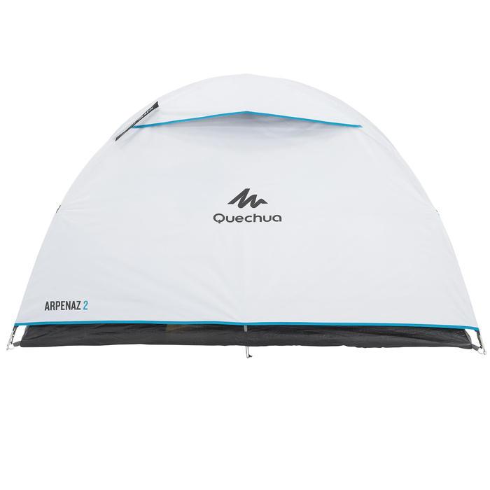 Tente de camping ARPENAZ 2 FRESH&BLACK | 2 personnes blanche - 202765