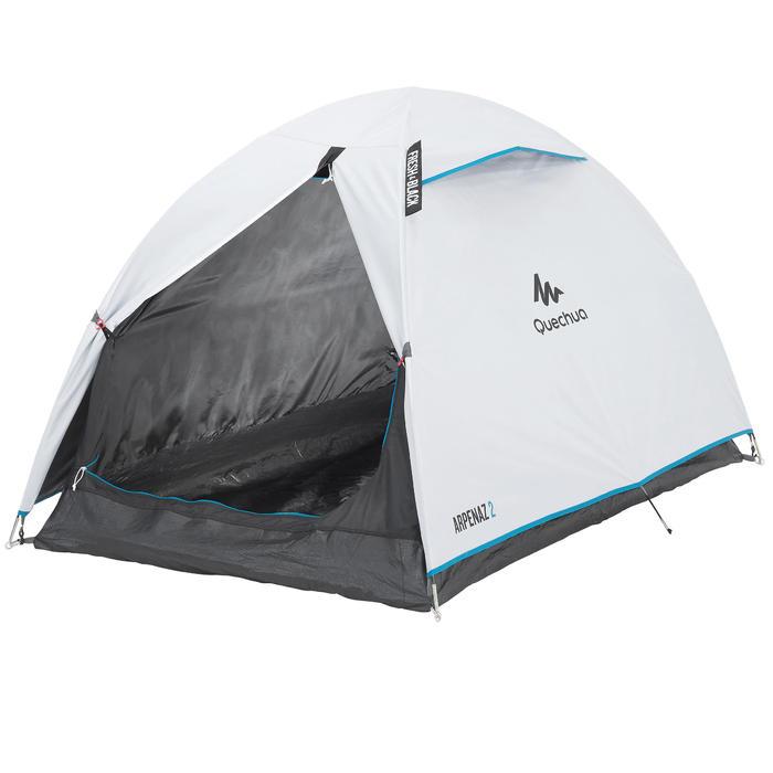 Tente de camping ARPENAZ 2 FRESH&BLACK | 2 personnes blanche - 202766