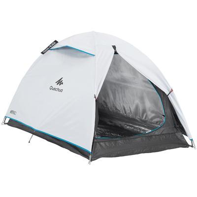 Carpa de Camping Pequeña Quechua Arpenaz Fresh&Black 2 Personas