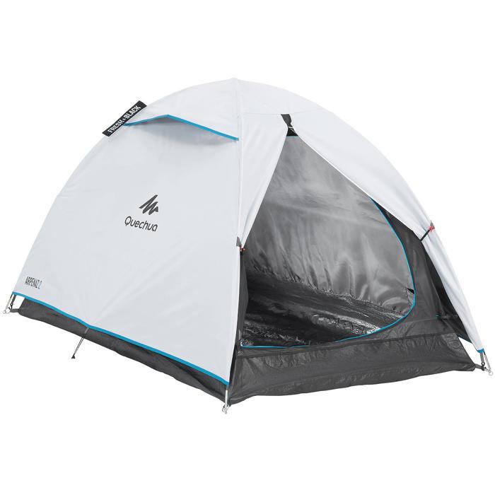 Tente de camping ARPENAZ 2 FRESH&BLACK | 2 personnes blanche - 202767
