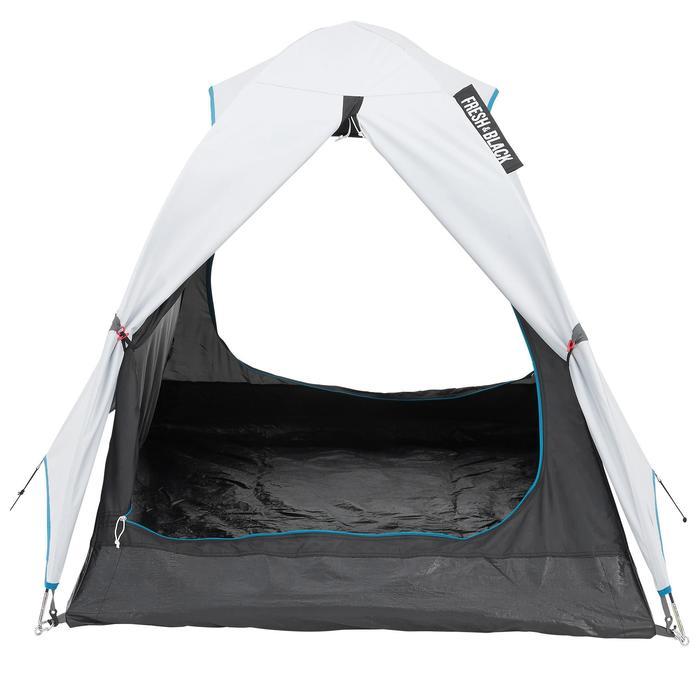 Tente de camping ARPENAZ 2 FRESH&BLACK | 2 personnes blanche - 202769