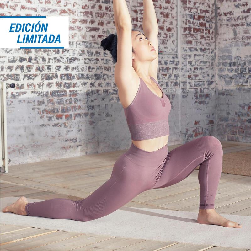 EDICIÓN LIMITADA Mallas Leggings Seamless Mujer Yoga Marrón