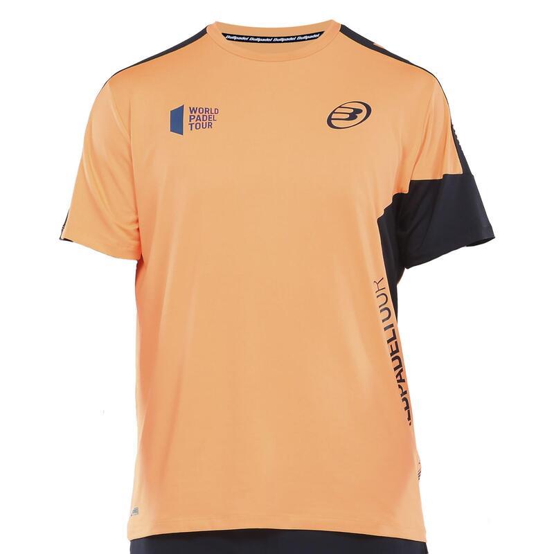 Camiseta de pádel hombre Bullpadel Viani naranja