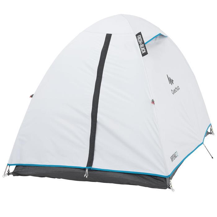 Tente de camping ARPENAZ 2 FRESH&BLACK | 2 personnes blanche - 202773