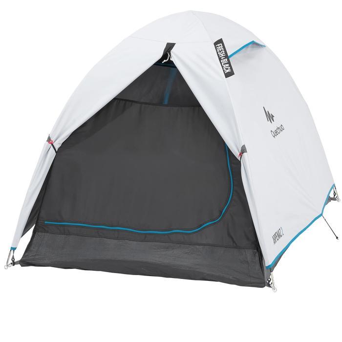 Tente de camping ARPENAZ 2 FRESH&BLACK | 2 personnes blanche - 202774