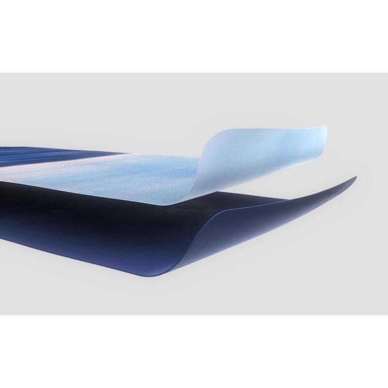絨面橡膠瑜珈墊 - 圖樣