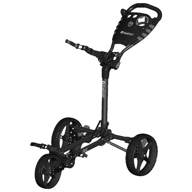 Golftrolley 3 wielen Flatfold