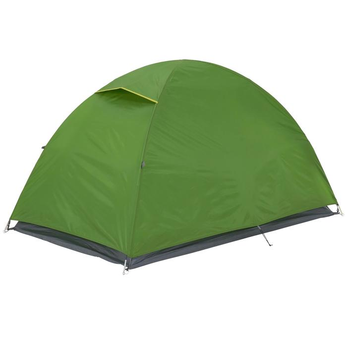 Tente de camping ARPENAZ | 2 personnes verte - 202791