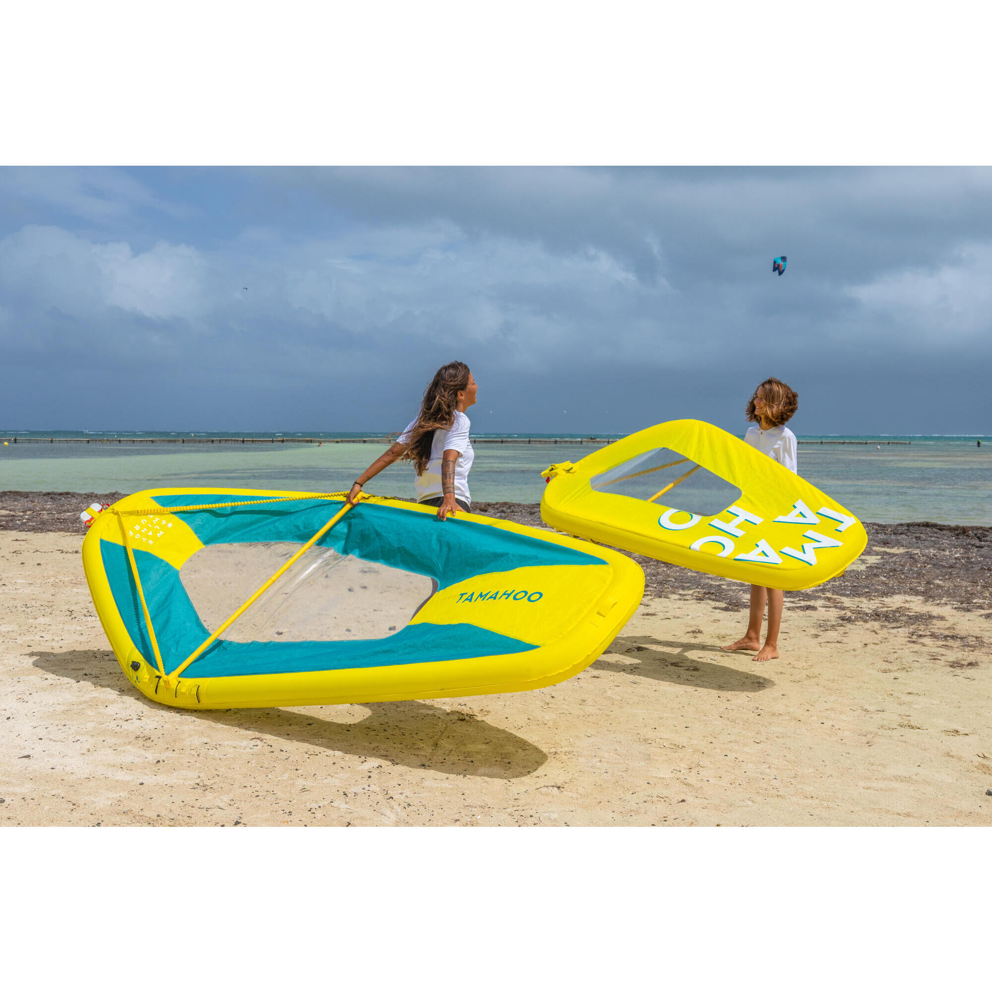 Voile ou kite...? Voile-gonflable-windsurf-100-lxl