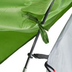 Campingzelt Arpenaz 2 für 2 Personen grün
