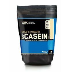 Poudre de protéine Optimum Nutrition 100% Casein Protein 450g Chocolat