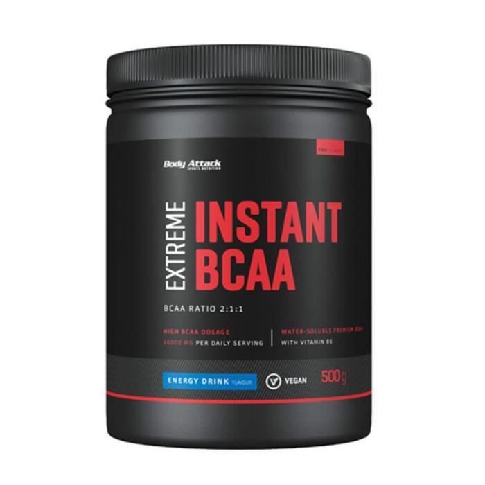 Poudre de protéine Body Attack Extreme Instant BCAA (500g Dose) Orange