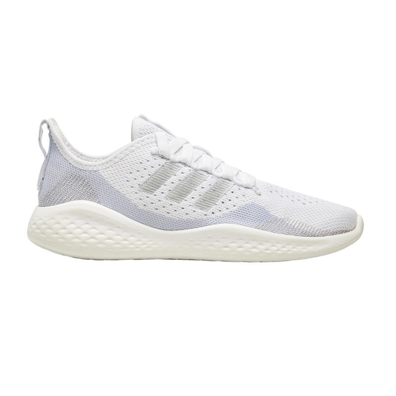 Chaussures de Running Adidas femme FluidFlow21 silver
