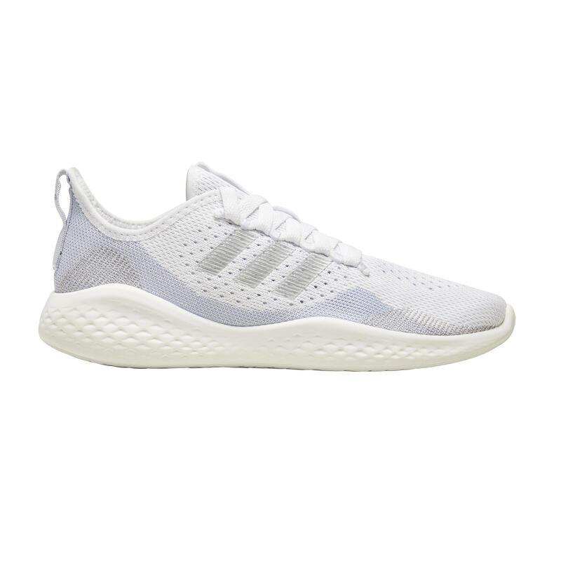 Scarpe running donna Adidas FLUIDFLOW21 argento