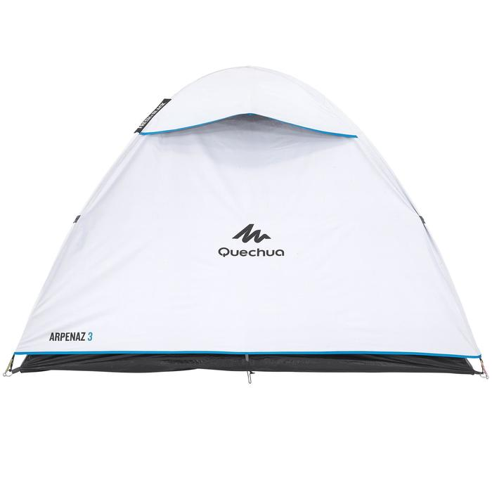 Arpenaz Fresh&Black 3 Person Camping Tent - White