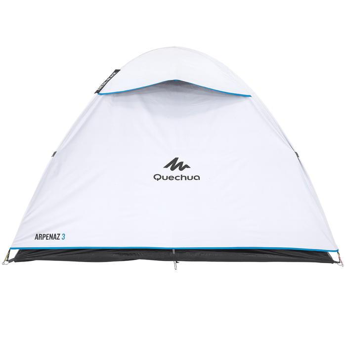 Tente de camping ARPENAZ 3 FRESH&BLACK | 3 personnes blanche - 202828