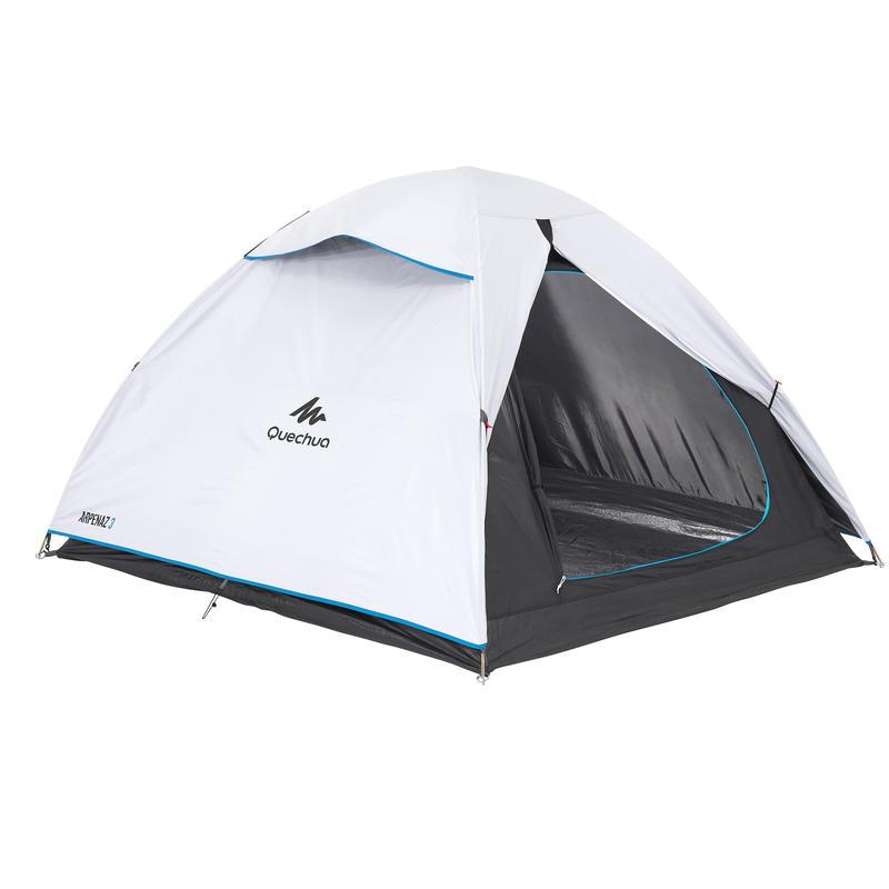 Beli šator za kampovanje ARPENAZ FRESH & BLACK za tri osobe
