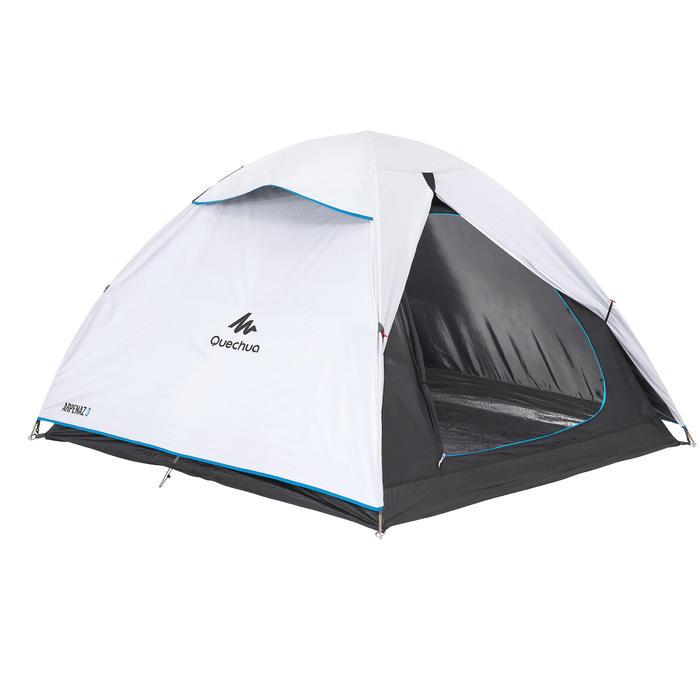Campingzelt Arpenaz 3 Fresh&Black für 3 Personen weiß