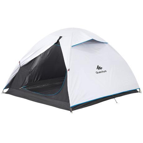 tente de camping arpenaz 3 fresh black 3 personnes blanche quechua. Black Bedroom Furniture Sets. Home Design Ideas