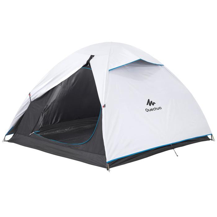 Tente de camping ARPENAZ 3 FRESH&BLACK | 3 personnes blanche - 202835