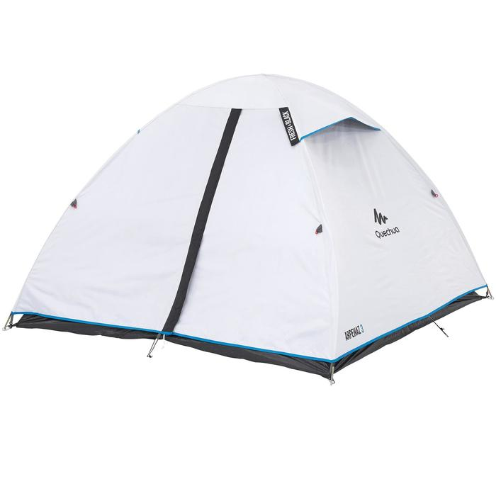 Tente de camping ARPENAZ 3 FRESH&BLACK | 3 personnes blanche - 202840