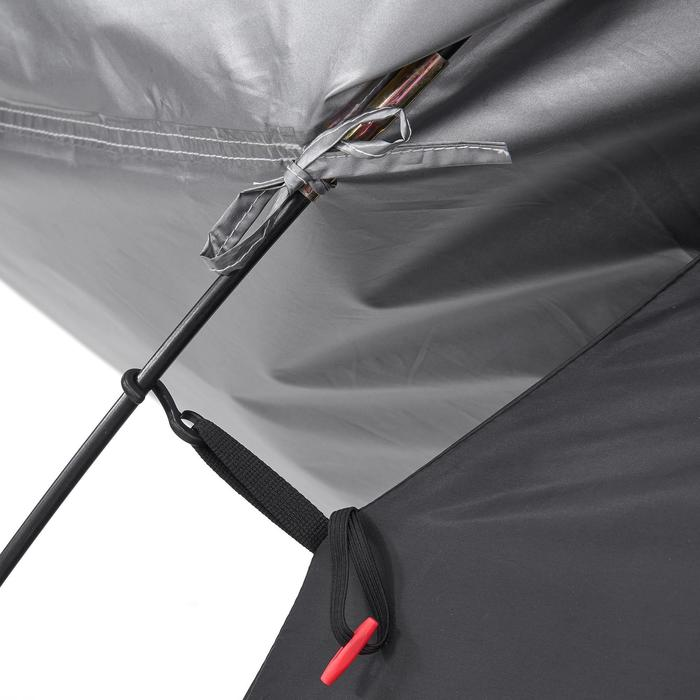 Tente de camping ARPENAZ 3 FRESH&BLACK | 3 personnes blanche - 202851