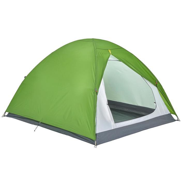 Tente de camping ARPENAZ | 3 personnes verte - 202858