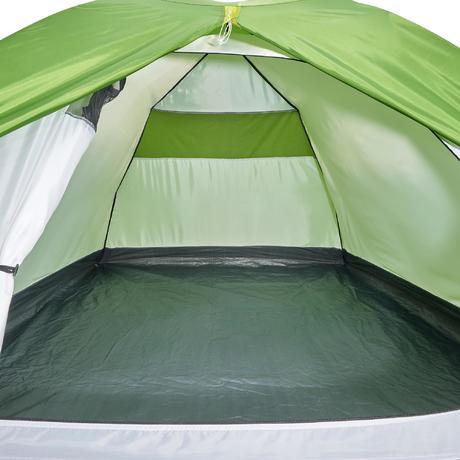 tente de camping arpenaz 3 personnes verte quechua. Black Bedroom Furniture Sets. Home Design Ideas
