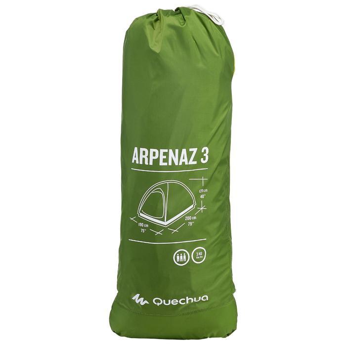 Tente de camping ARPENAZ | 3 personnes verte - 202869