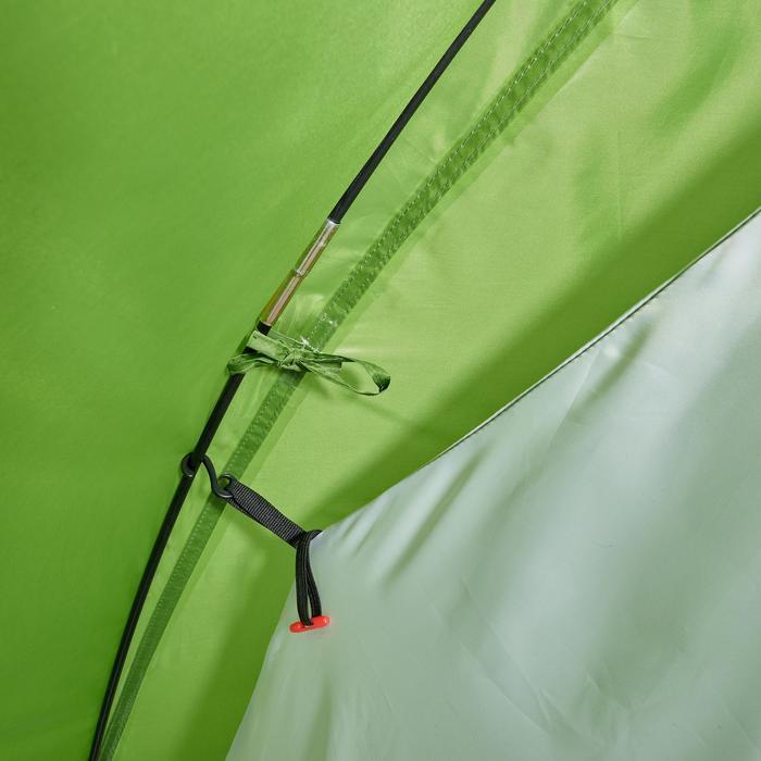 Tente de camping ARPENAZ | 3 personnes verte - 202872