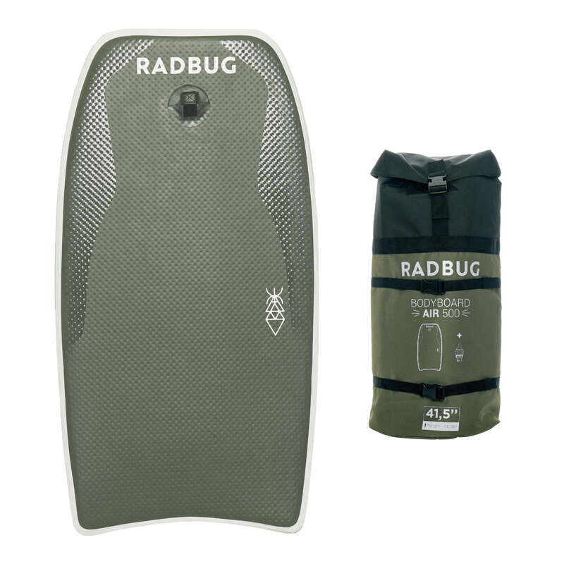 Bodyboard Strand, szörf, sárkány - Bodyboard Air 500, felfújható RADBUG - Hullámlovaglás, strandsportok