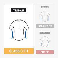 Women's Cycling Long-Sleeved Merino Jersey RC900 - Burgundy
