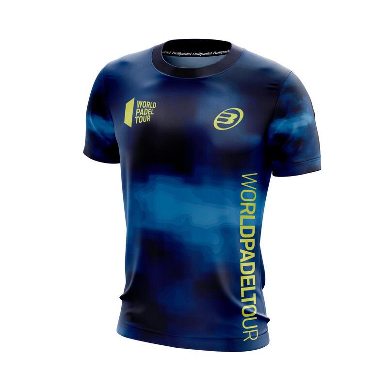 Camiseta de pádel hombre Bullpadel Vaupes Azul
